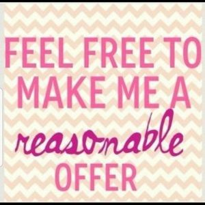 Other - Make me an offer 👍🏻 I might just say yes !